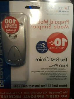 SANYO SCP 200 Flip Phone with battery CMD Sprint New Still i