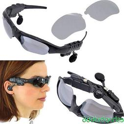 Flip-up Sunglasses Bluetooth Stereo Music Headphone for Phon