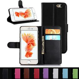Flip Wallet Leather Phone Case Cover For Apple iPhone 4S 5S