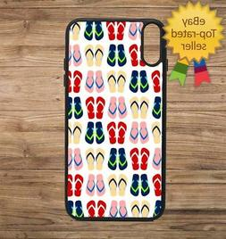 FlipFlop Thong Print Pattern Phone Case for iPhone Galaxy 5