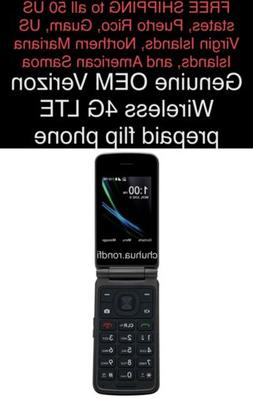 *FREE SHIPPING* New Sealed Verizon Wireless Prepaid 4G LTE e