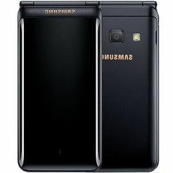 "Samsung Galaxy Folder 2 G1650 3.8"" Black 16GB Dual Sim Andro"