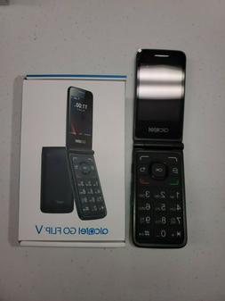 "Alcatel- Go Flip V - 4G LTE - Black  Basic 4G Flip Phone ""Bi"