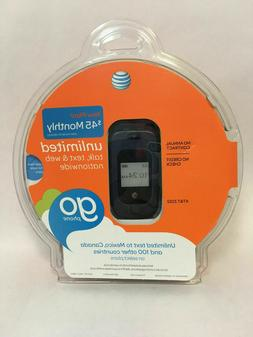 Go Phone AT&T ZTE Z222 Prepaid GSM Flip Camera Cell Phone Br