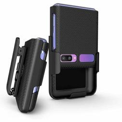 Hard Protector Case Cover with Belt Clip Holster for Samsung