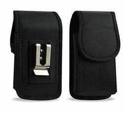 AGOZ Heavy Duty Rugged Belt Clip Loop Pouch Case Holster for
