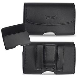 Horizontal Leather Case with Magnetic closure with belt clip