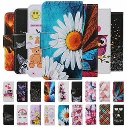 For Huawei P Smart Y5 Y6 Y7 2019 Case Painted Wallet Flip Ca