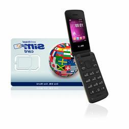 international cell phone 3g flip phone new