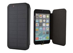 iPhone 6 Solar Charger Battery Case, Phone Charger Case 2800