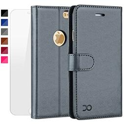 OCASE iPhone 6S Case  Leather Flip Wallet Case for iPhone 6