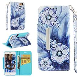 Badalink iPhone 8 Case Wallet, iPhone 7 Case Flip Cover Colo