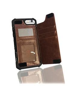 iPhone 8 Plus/7 Plus/6s Plus Wallet Case - AXLEP Credit Card