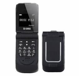 LONG-CZ J9 World Mini Smallest Flip Mobile Phone Unlocked  U