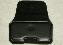 JITTERBUG FLIP PHONE BLACK MAGNETIC CARRY CASE W/ BELT CLIP