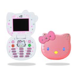 K688+ Cute Mini Hello Kitty Girl <font><b>Phone</b></font> Q