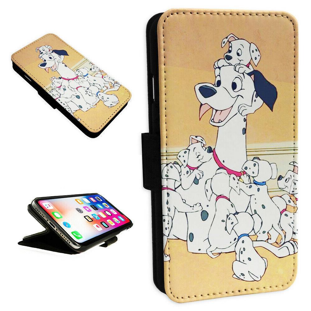 101 dalmations puppies flip phone case wallet