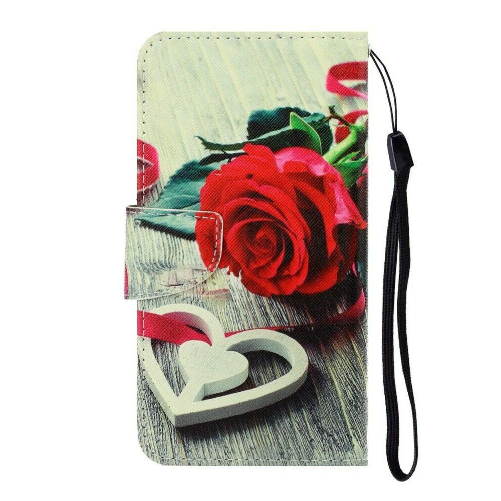 2018 Pattern Wallet Flip Stand Phone Cover Fr A50 A70 A8