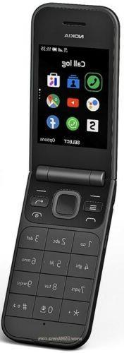 "Nokia 2720 Flip 4G Black 2.8""  Dual-core 2 MP Phone Unlocked"