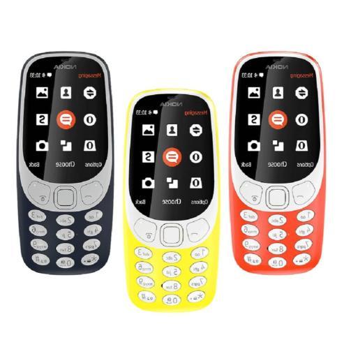 NOKIA 3310 Unlocked Dual SIM Classic Phone 16MB Camera Phone