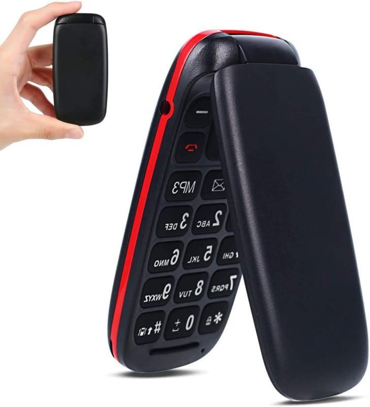 Ushining 3G Flip Phone Unlocked Basic Cell Phones Large Icon