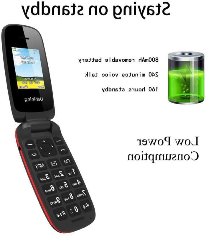 Ushining Unlocked Large Phone Easy