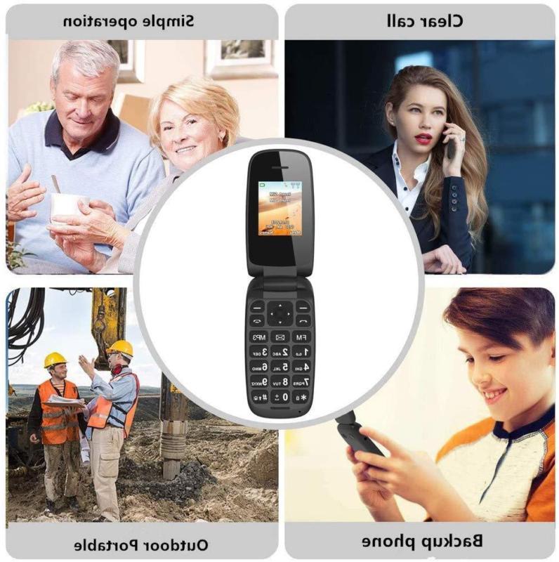 Ushining 3G Unlocked Basic Cell Phones Large Icon Feature