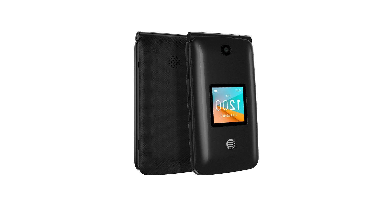 Alcatel 2 AT&T GSM Flip Phone OB