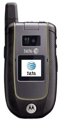 Motorola Tundra VA76r Rugged GSM Cell Phone AT&T