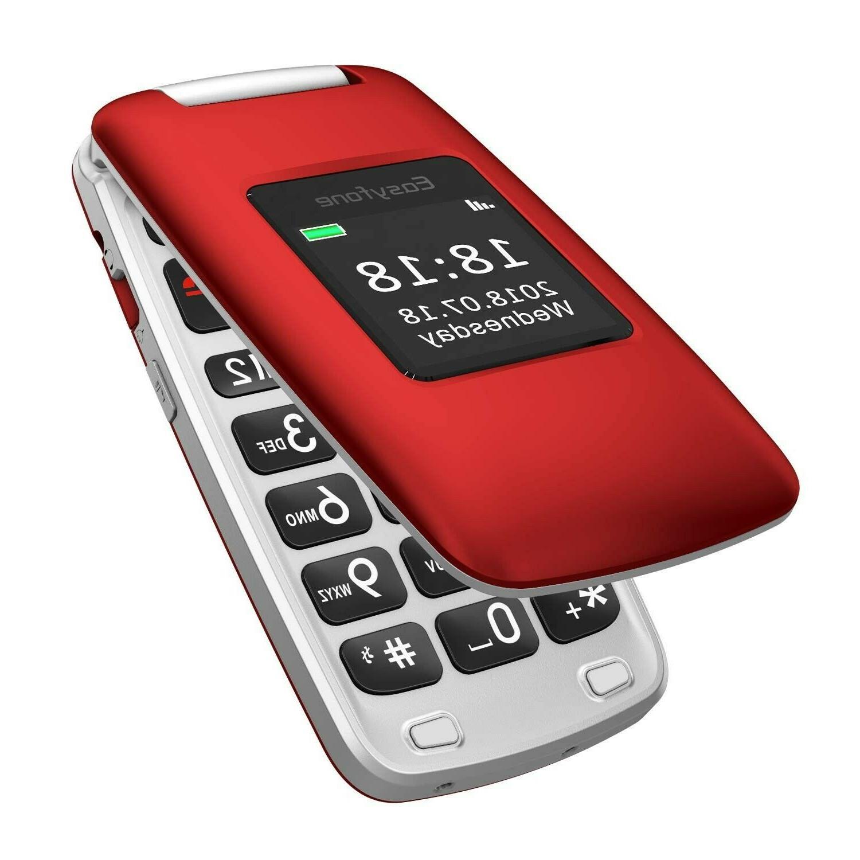 A1 3G Unlocked Senior Flip Cell Phone, Big