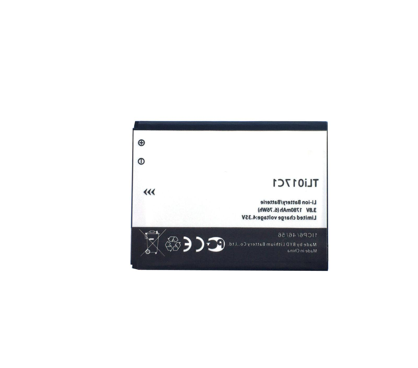 For One Touch Jitterbug Greatcall Flip Phone Battery TLi017C1