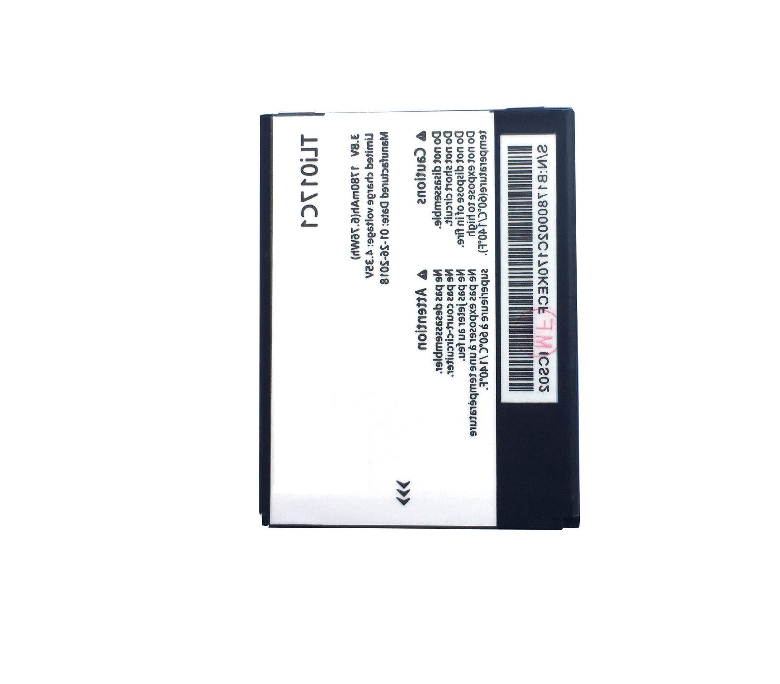 For Jitterbug Greatcall Flip Battery TLi017C1