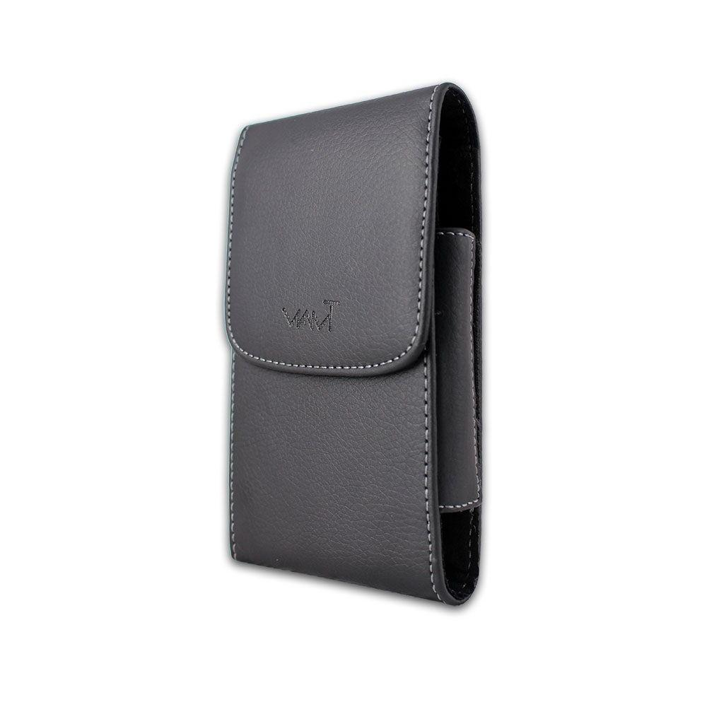 Black Leather Pouch Holster for 2 II