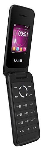 BLU Diva Flex - Flip phone - unlocked Dual Sim - Black