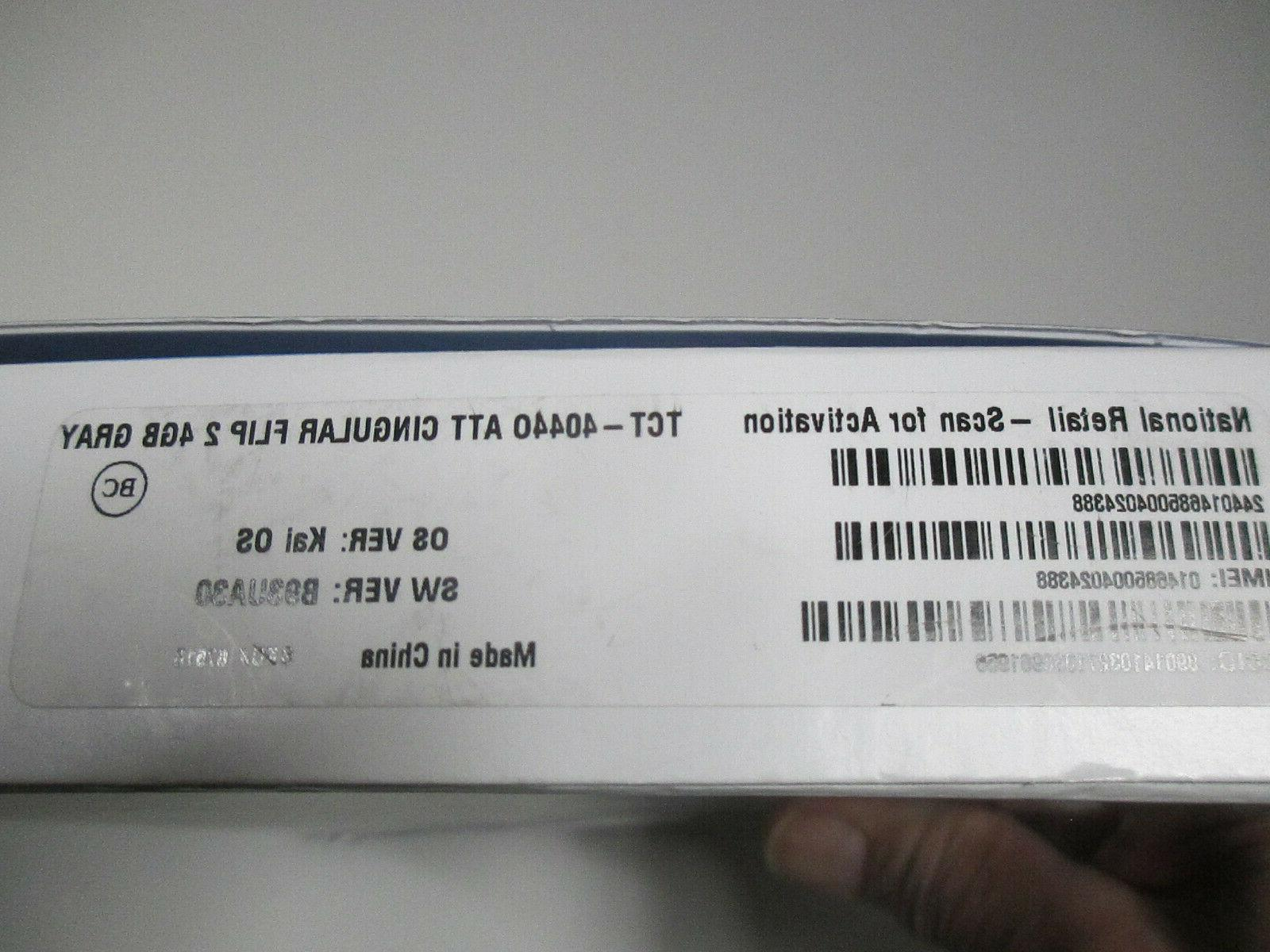 BRAND Flip- 4G Flip Phone
