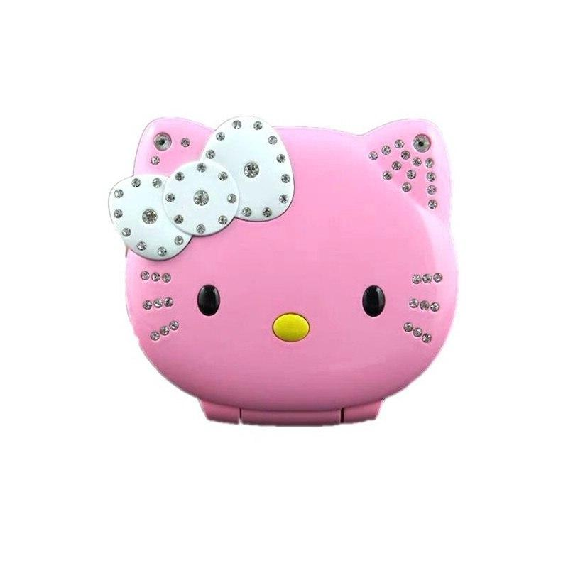 Cute Hello Kitty Girl <font><b>Phone</b></font> Band <font><b>Phone</b></font> <font><b>Unlocked</b></font> Mini Dual <font><b>Cell</b></font> <font><b>Phone</b></font>