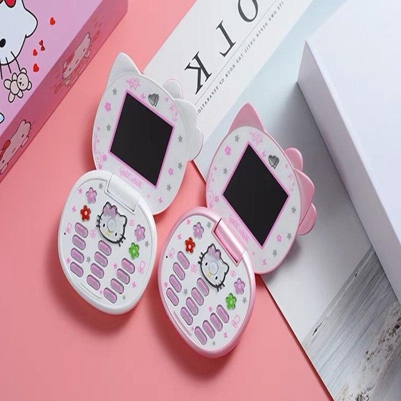 Cute Mini Hello Girl K688+ Band <font><b>Flip</b></font> Mobile <font><b>Phone</b></font> Mini <font><b>Phone</b></font>