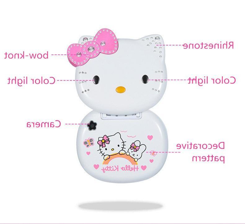 Cute Mini Hello Girl <font><b>Phone</b></font> Band <font><b>Phone</b></font> <font><b>Unlocked</b></font> Children Mini Dual Sim <font><b>Phone</b></font>