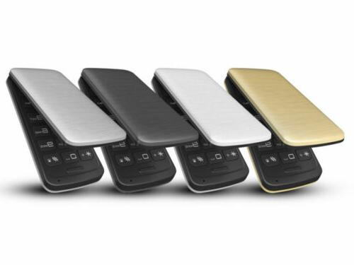 "BLU Diva 2.4"" T350 Unlocked Flip Phone T9"