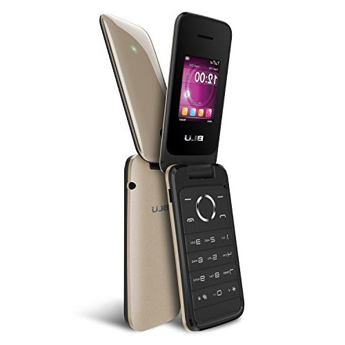 - Flip Phone - Gold