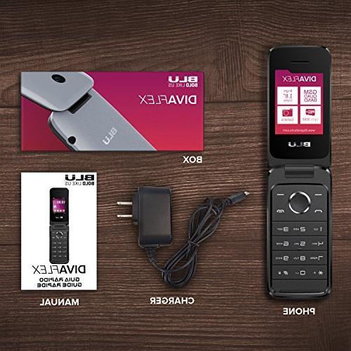 NEW Flex - Flip Phone - T370 Gold