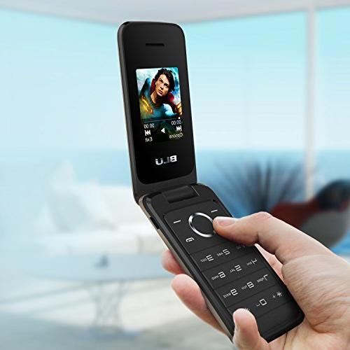 NEW - Unlocked SIM Flip Phone - T370 Gold