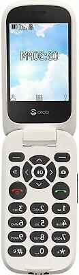 Doro  Flip Easy-to-Use Cell Phone for Seniors by Tracfone...