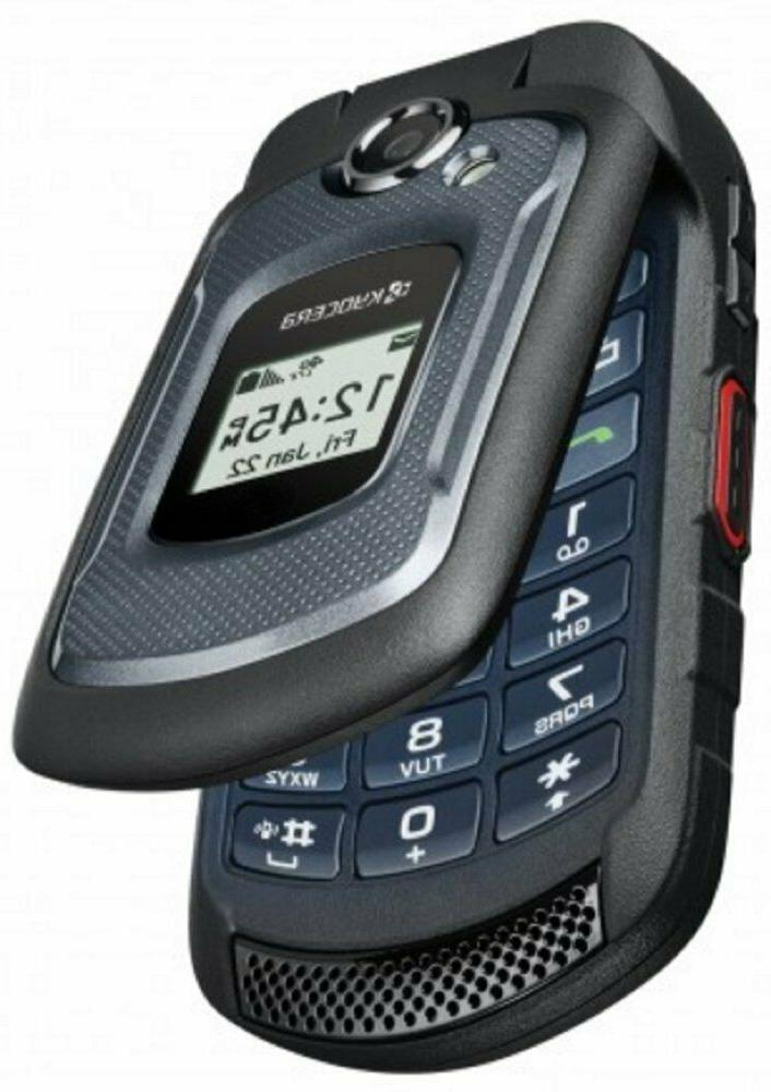 Kyocera DuraXE 8GB 4G LTE Cell Phone Flip NEW