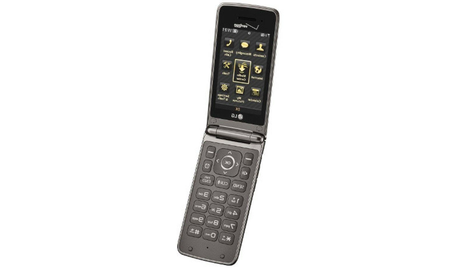 LG II | VN370 | 256MB Black Flip Cellular