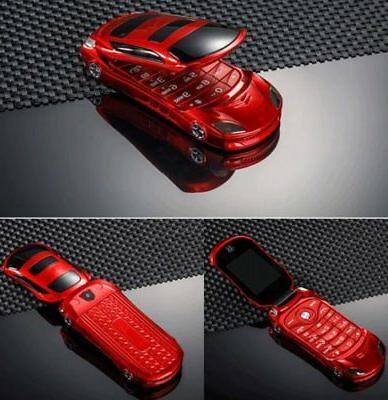 "F15 Flip Car 1.8"" Mini Dual SIM Unlocked Mobile"