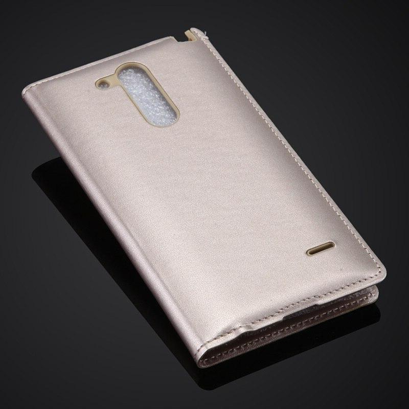 Fashion View G3 Stylus Luxury Cell Leather <font><b>Flip</b></font>