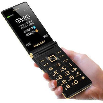 + Flip Mobile Phone Loudspeaker Camera Touch Screen 3.0 Inch