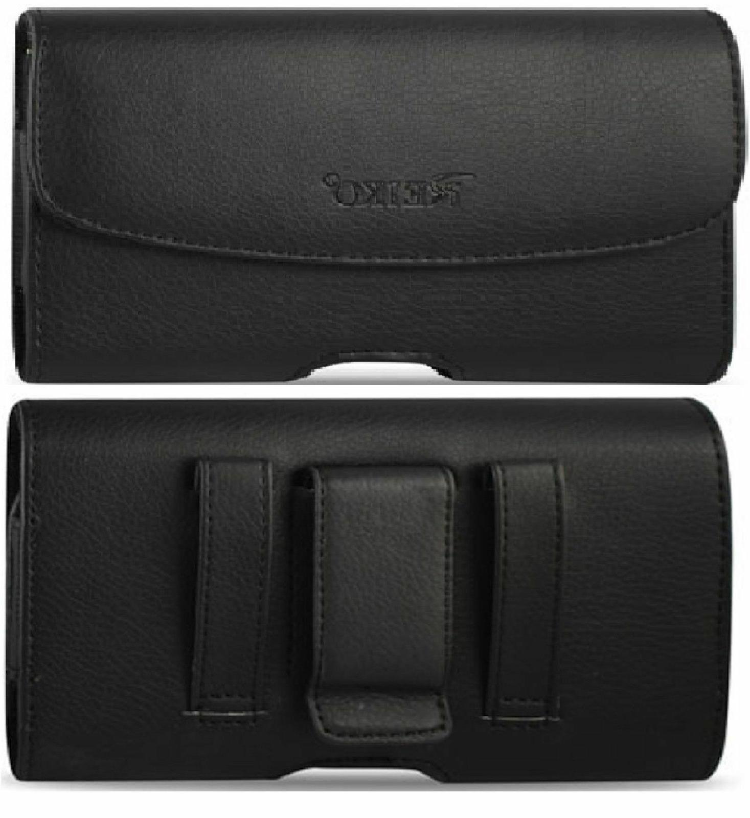 Leather Case With Belt Clip & Loop for SPRINT Kyocera DuraXT