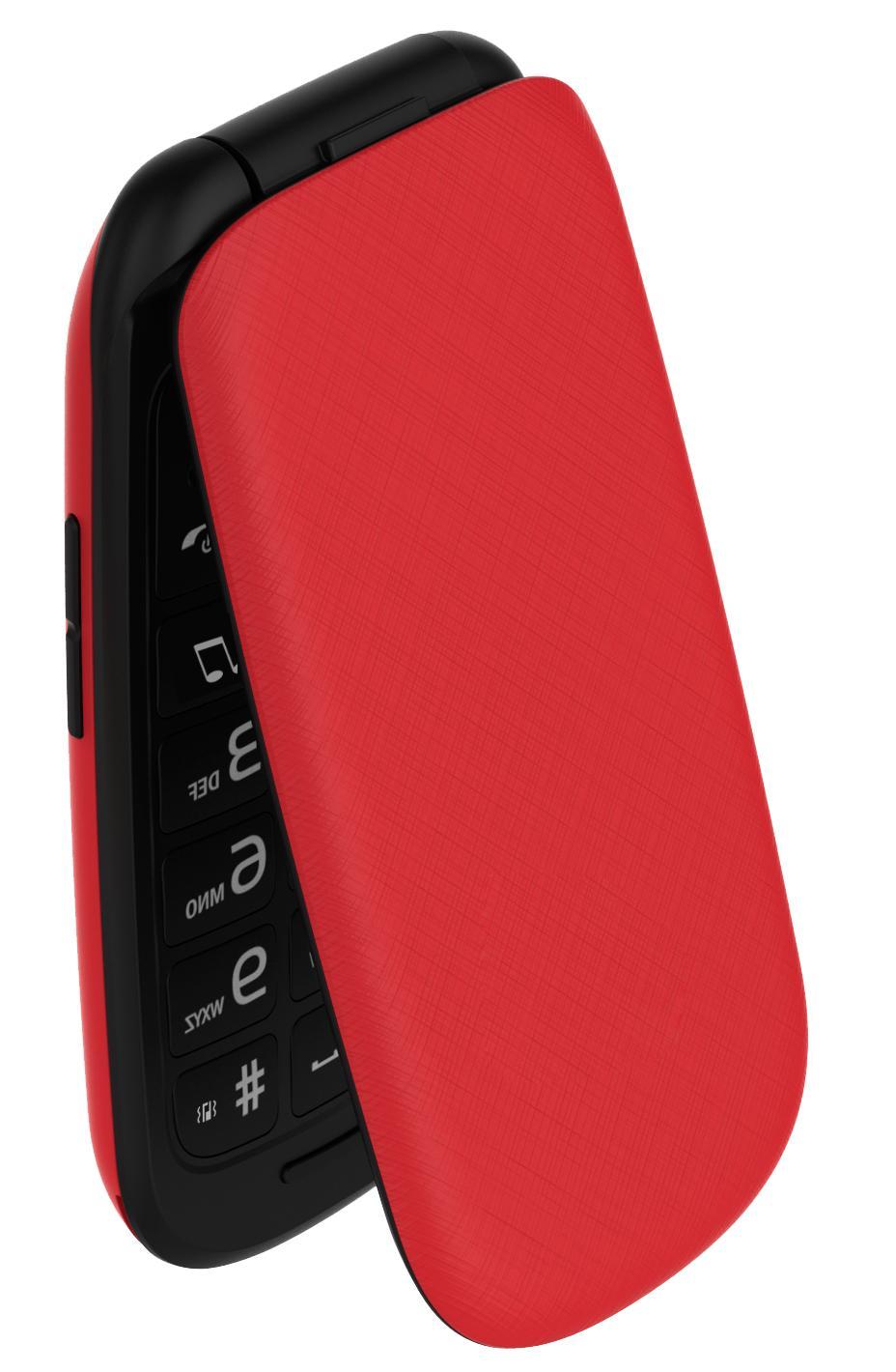 Flip GSM BIG SCREEN Dual Tmobile D110Red